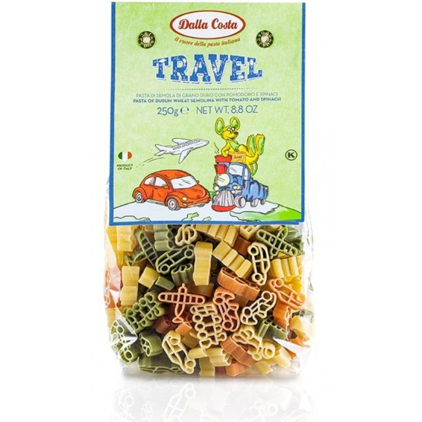 DALLA COSTA, PASTE TRAVEL DIN GRAU DUR 250GR