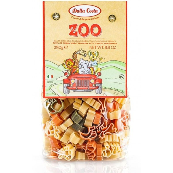 DALLA COSTA, PASTE ZOO DIN GRAU DUR 250 GR